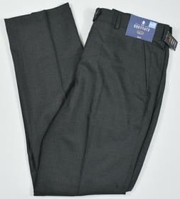 Stafford #5601 NEW Men's Classic Fit Travel Trouser Flat Fro