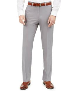$70 Dockers Men's Silver Grey Classic Fit Solid Performance