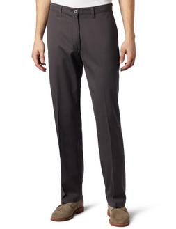 Lee Men's Comfort Waist Custom Relaxed Fit Flat Front Pant,S