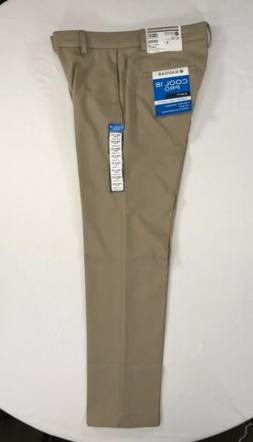 HAGGAR Cool 18 Pro Golf Pants Classic Comfort Stretch Expand