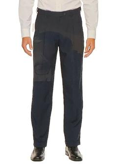 Croft&Barrow Mens Classic Fit Easy Care Pleated Essential Dr