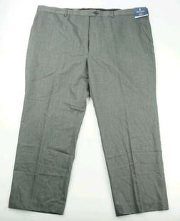 STAFFORD Executive BIG & TALL Wool Gray Suit Separates Flat