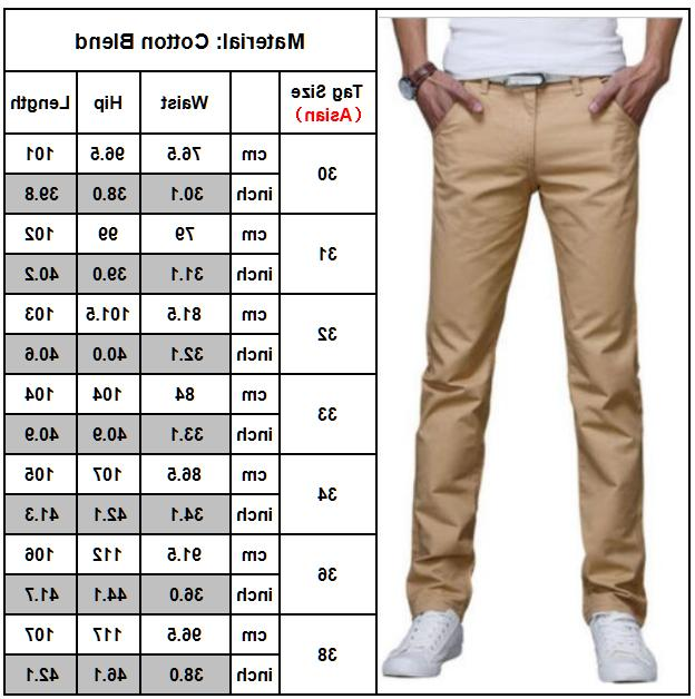 Mens Business Dress Pants Casual