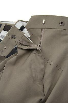 Mens Taupe Dress Pants Big Tall Pleated Trousers Sizes