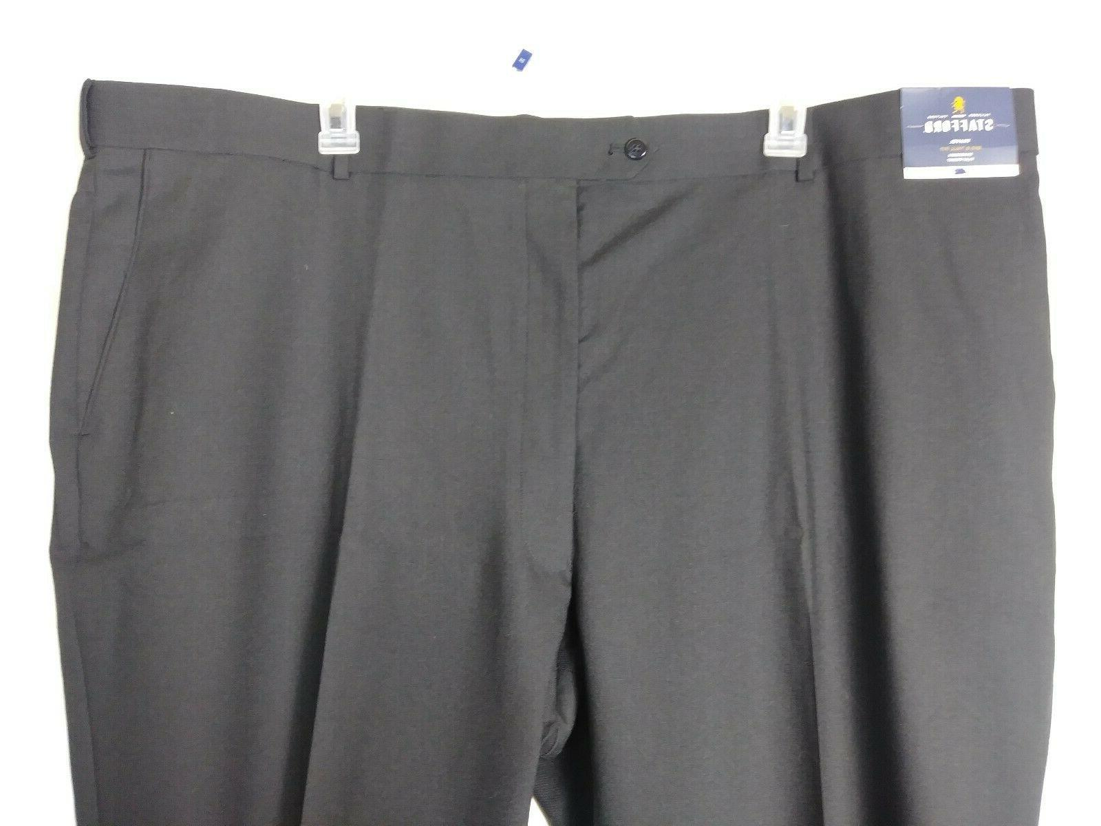 NEW Stafford Mens Dress Pants Size Travel Front