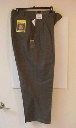 Outdoor Outfitters Men's Dress Pants Olive Green 48X30 wrink