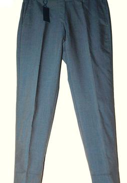 ZANELLA  MEN'S LIGHT GRAY WOOL DRESS ITALYAN STYLE PANTS SZ