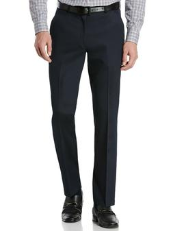 men s portfolio solid slim fit stretch