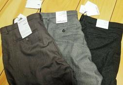 CALVIN KLEIN Mens Assorted Casual Dress PANTS NEW 33 34 blac