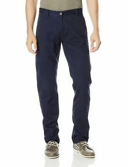 Dockers Mens Pants Navy Blue Size 38X32 Athletic Fit Stretch