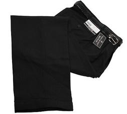 Mens Trousers Black Dress Pants Big & Tall Pleated Slacks &