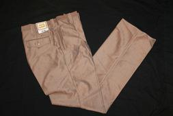 Mens Vintage Kenco Fashions LAredo Clothing Brown Slacks Dre