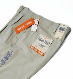 NEW Dockers Men's Relaxed Fit Easy Comfort Pants D4-Pleated,