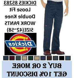 Dickies 85283 Loose Fit Double knee Work Pants Sizes 42 to 5