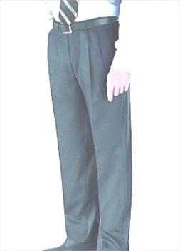 NWT $195 JACK VICTOR Light Gray MAX Pleated Front Wool Blend