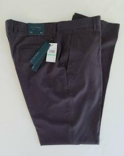 NWT Perry Ellis Mens Dress Pants Slim Flat Front Size 34X32